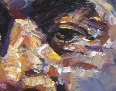 Kurt series-  oil on canvas- 1990 -92