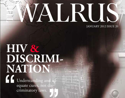 The Walrus magazine redesign.