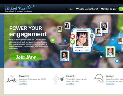 Linkedstars — new social for professionals