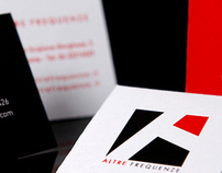 Altre Frequenze corporate and brand identity