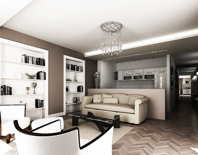 Interior apartment 01