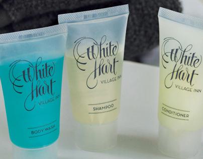 White Hart Village Inn - Logo Design