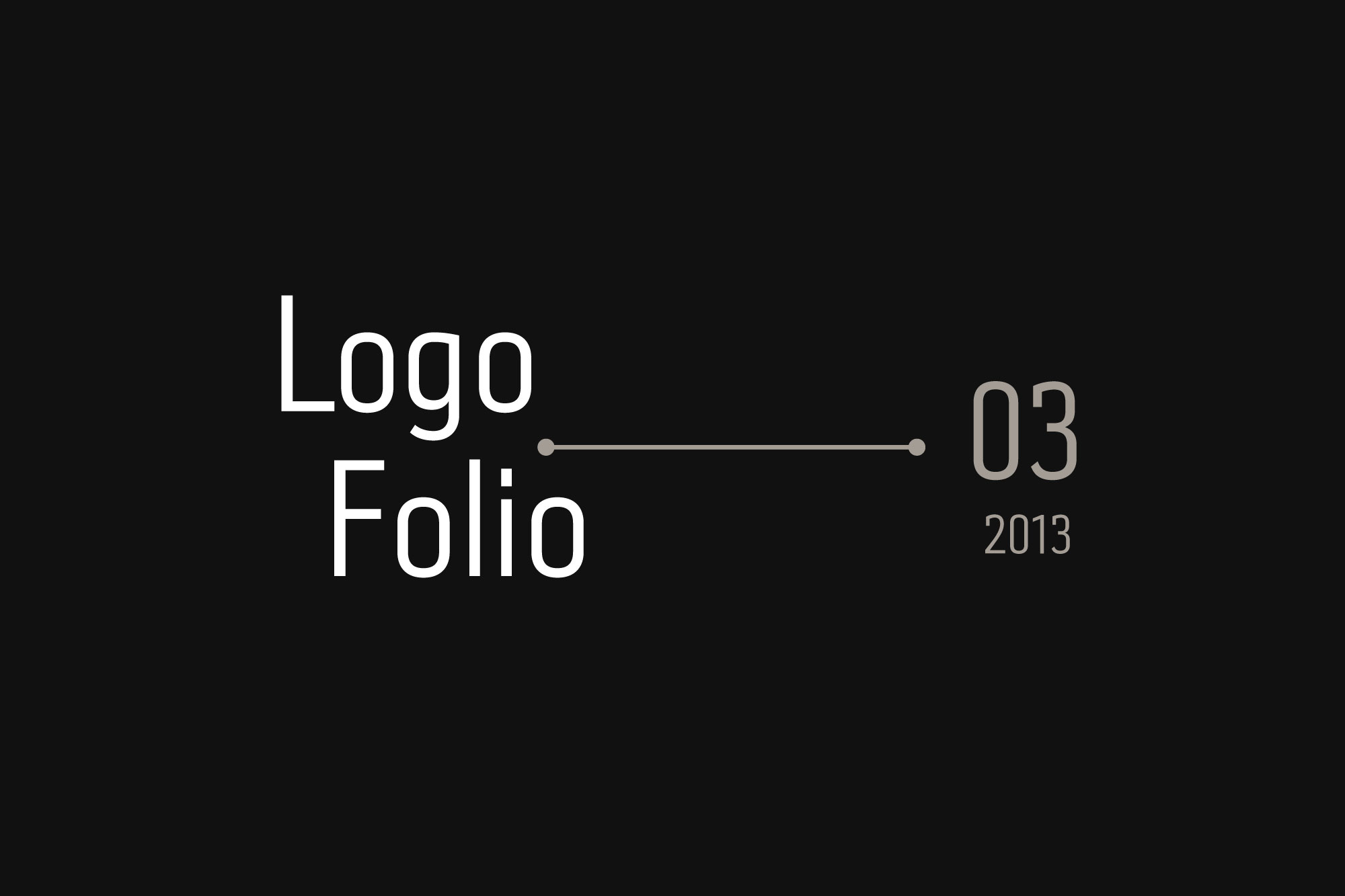Bilingual Logo Folio 2013