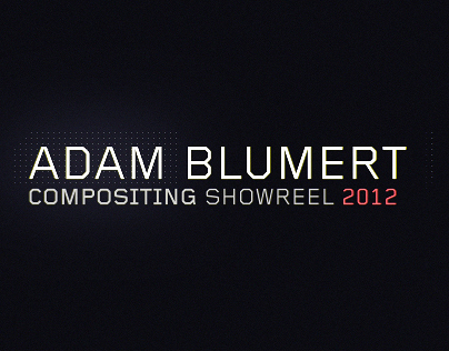 Compositing showreel 2012