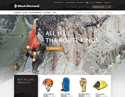 Black Diamond Website Pitch
