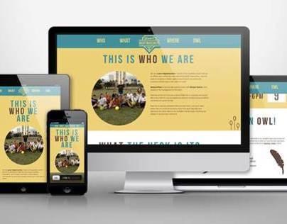 RESPONSIVE WEB DESIGN / LOGO DESIGN
