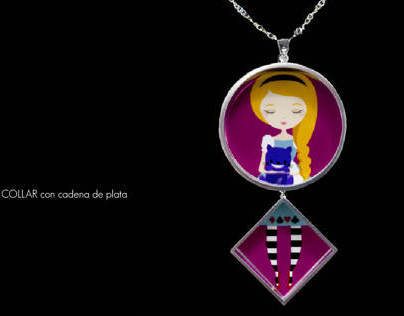 Joyas con ilustraciones / Jewelry with illustrations