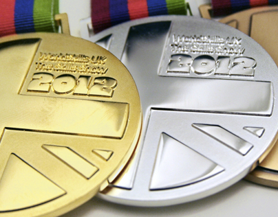 Medal Designs: The Skills Show 2012