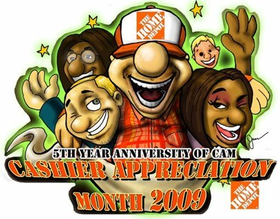 Share Favorite Home Depot Cashier Appreciation Month