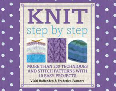 Craft Books- Crochet  and Knit Step by Step