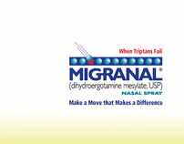 Migraine Product Relaunch Materials