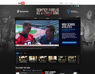 The Marine Corps & Semper Fidelis All-American Bowl