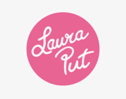 LAURA PUT — website y logotipo