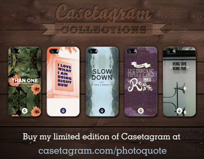 PHOTO QUOTE iPhone Case
