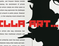 Guerilla Art Magazine Article