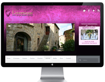 Livernano website restyle
