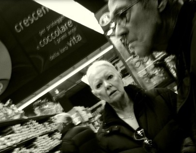 Supermarket people