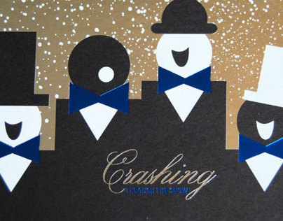 Event Crashers Christmas Card