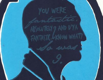 Doctor Who / Christopher Eccleston screen print