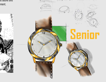 Wrist watch design