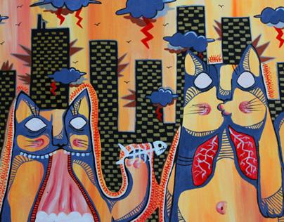 Cats + Buildings | 2011