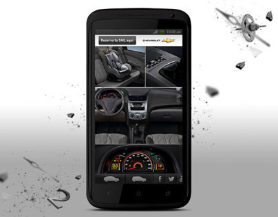 Site mobile Chevrolet SAIL
