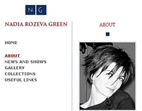 Nadia Green Website