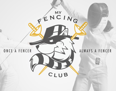 MyFencing Club - Logo Design