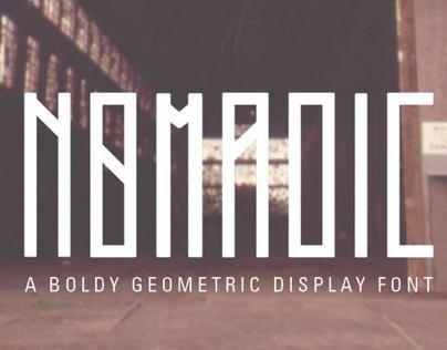 Nomadic Display Font