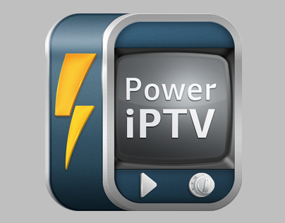 Power IPTV player for iOS (icon)