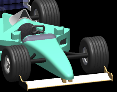 CFD Analysis of F-1 Car