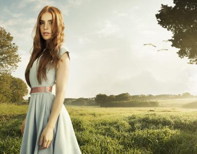 Lady In The Field