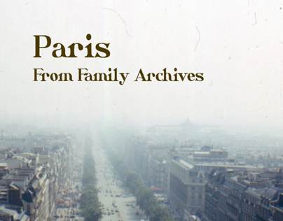 Paris From Family Archives Book