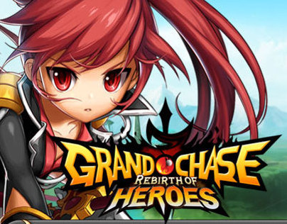 Website for Grand Chase Online Game