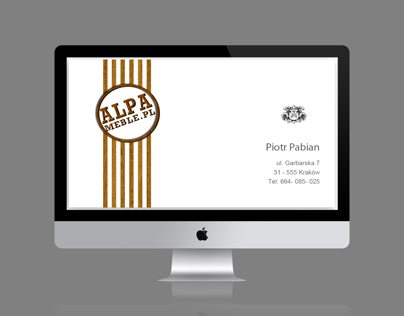 alpa business card