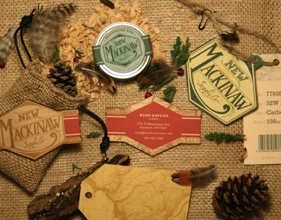 New Mackinaw Supply Co. // Branding Project