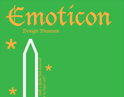 Emoticon Poster Design