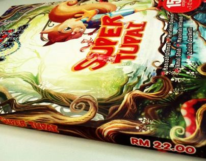 Super Tupai Book Cover - Magical Jungle