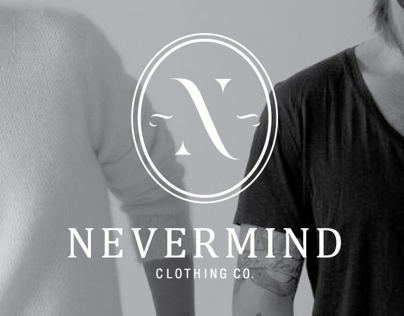 NEVERMIND Clothing - Brand Identity