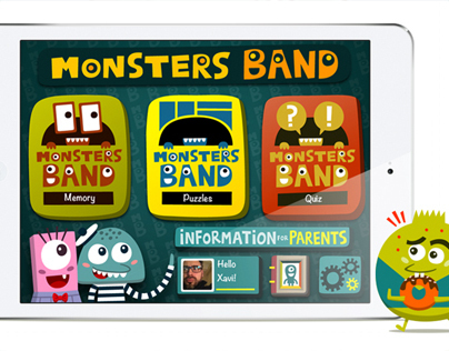 Monsters Band - Board Games