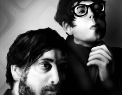 The Black Keys Illustration