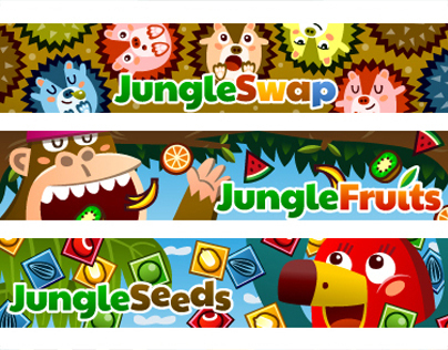 Jungle Swap / Jungle Fruits / Jungle Seeds