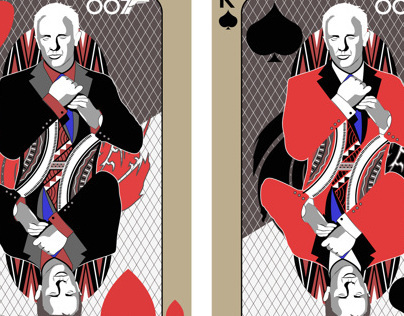 007 Deck of Playing Cards Project.