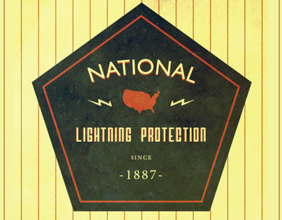 National Lightning Protection Logo Treatments