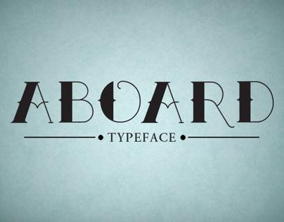 Aboard typeface