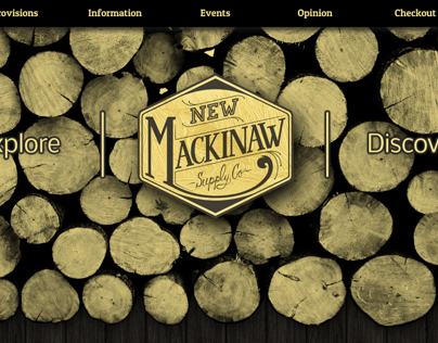 New Mackinaw Supply Co. // Menswear Retailer Website