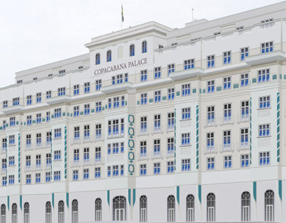 Architectural Perspective - Copacabana Palace