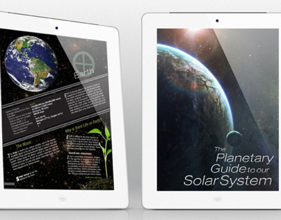 Digital Publishing for Tablets- Planetary Guide App