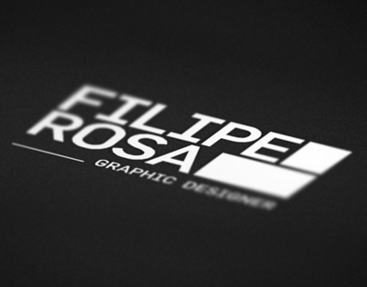 Filipe Rosa / Visual Identity