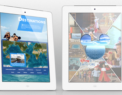 Digital Publishing for Tablets - Disney Cruise App